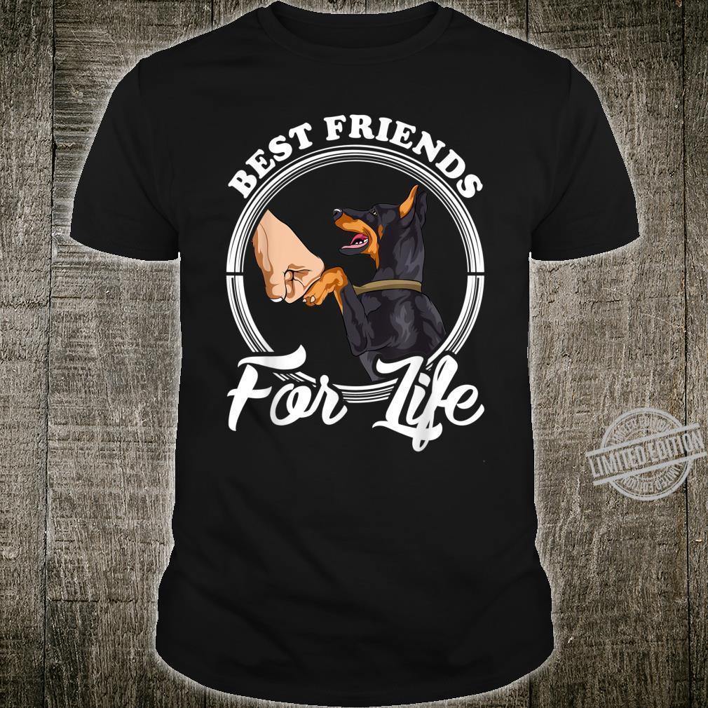 Dobermann Pinscher Best Friends for Life Shirt
