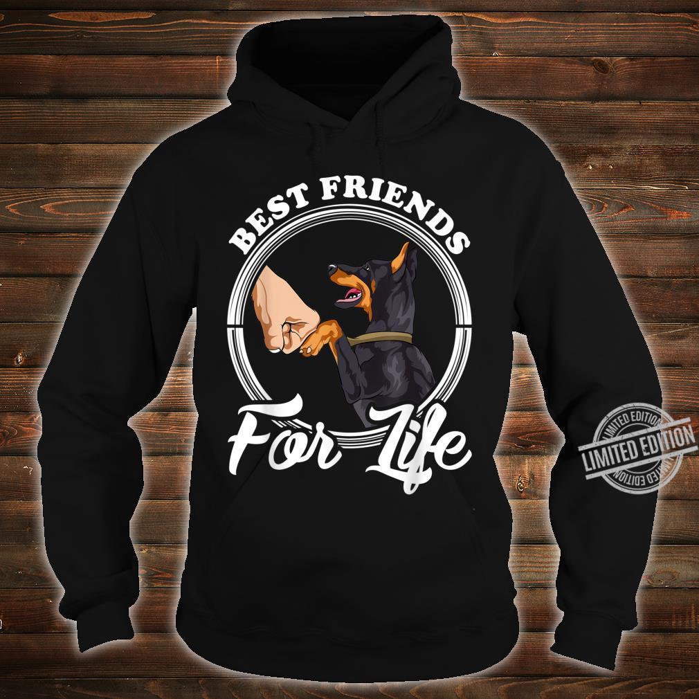 Dobermann Pinscher Best Friends for Life Shirt hoodie