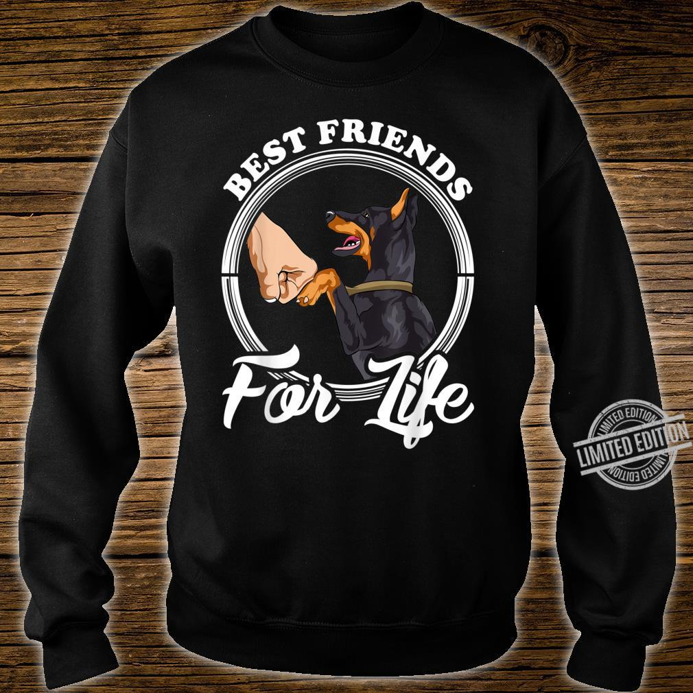 Dobermann Pinscher Best Friends for Life Shirt sweater