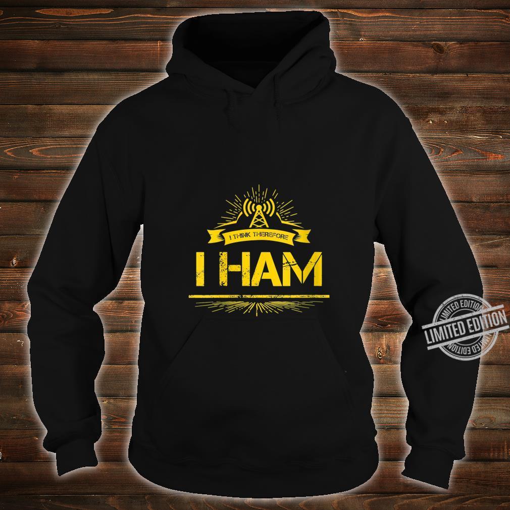 Womens Amateur Radio Pun Ham Operator Shirt hoodie