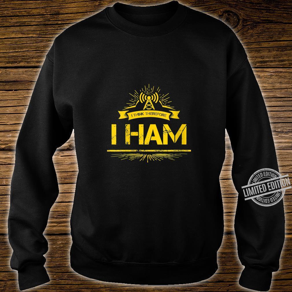 Womens Amateur Radio Pun Ham Operator Shirt sweater