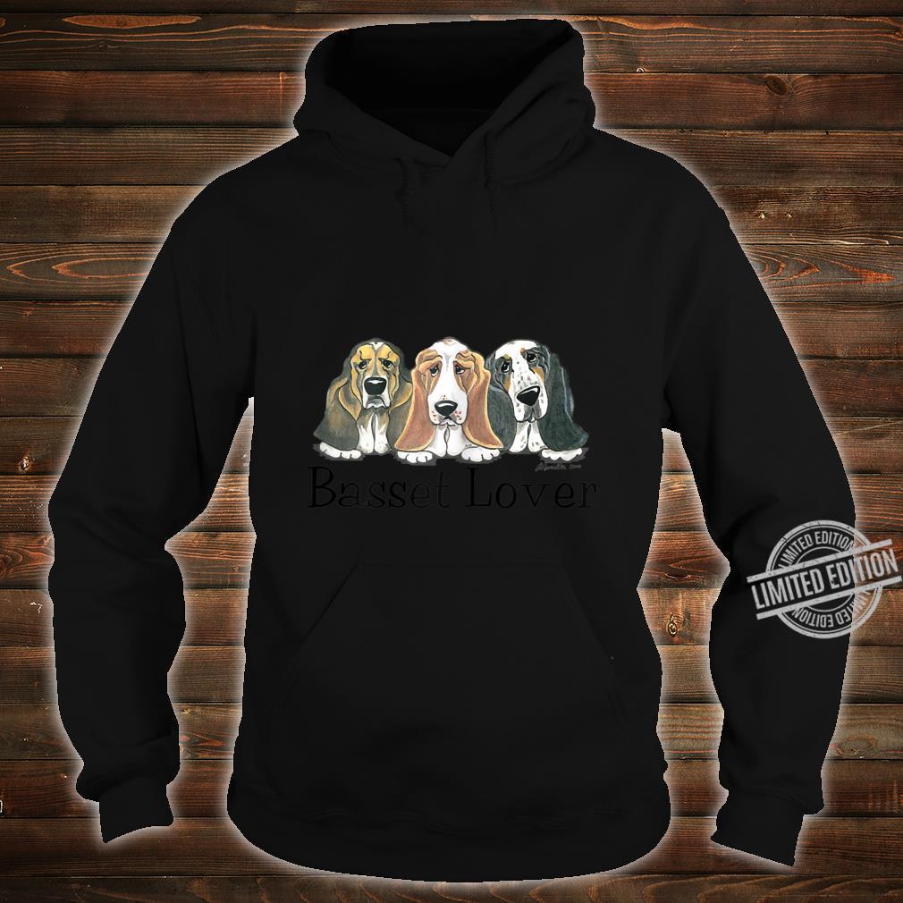 Womens Basset Shirt hoodie