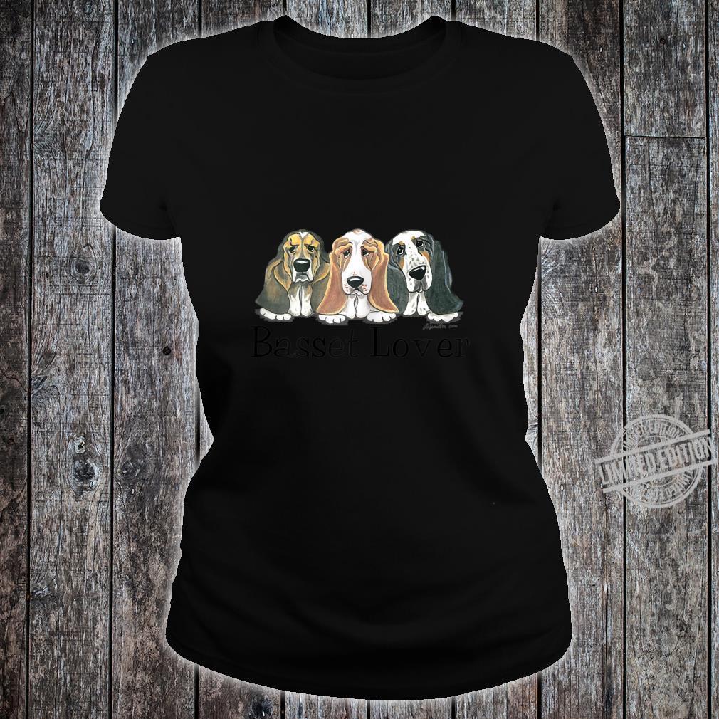 Womens Basset Shirt ladies tee