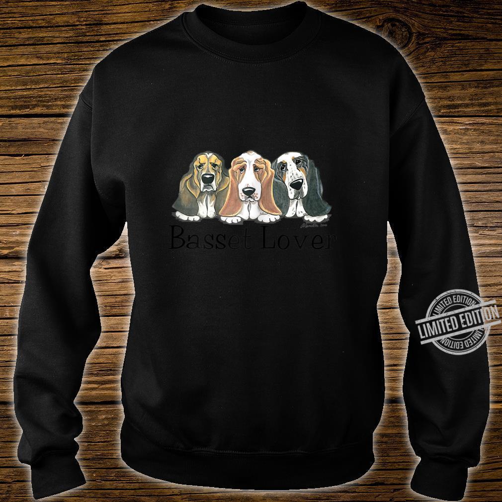 Womens Basset Shirt sweater